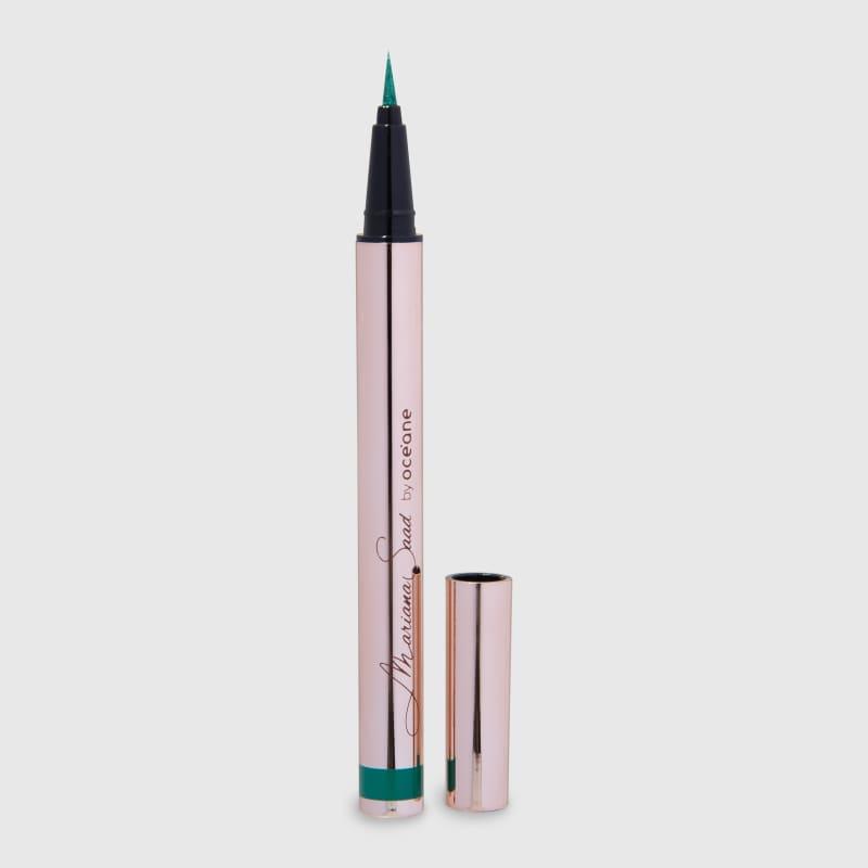 Eyeliner Real Green Mariana Saad - Caneta Delineadora Verde 1,8g