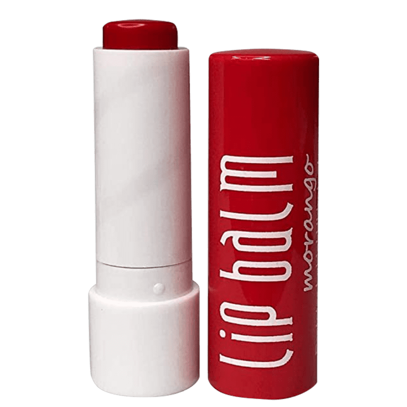 Koloss Make Up Lip Balm Morango - Hidratante Labial