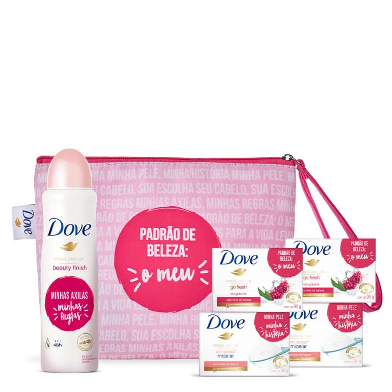 Kit Dove proteção e limpeza + Necessaire