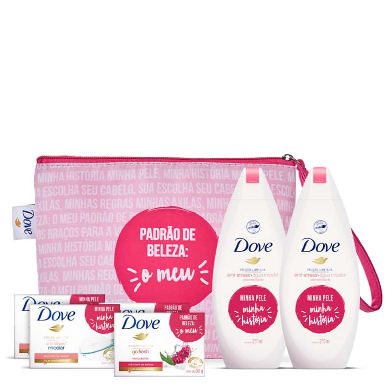 Kit Dove Limpeza + Necessaire
