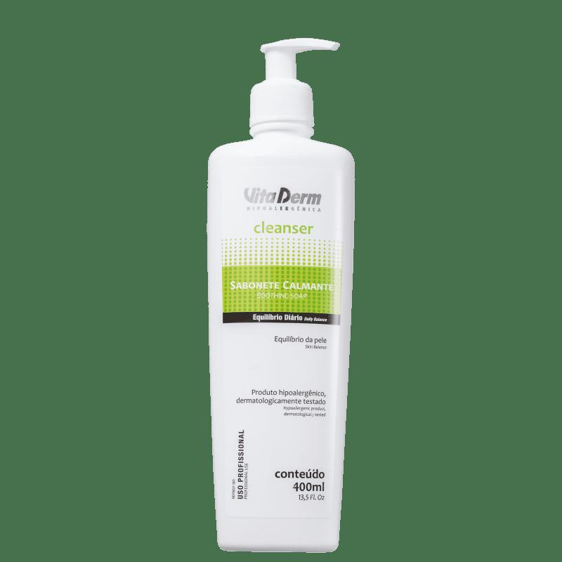 Vita Derm Cleanser Calmante - Sabonete Facial 400ml