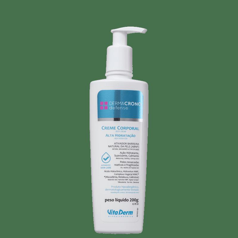 Vita Derm Dermacrono Defense - Creme Hidratante Corporal 200g