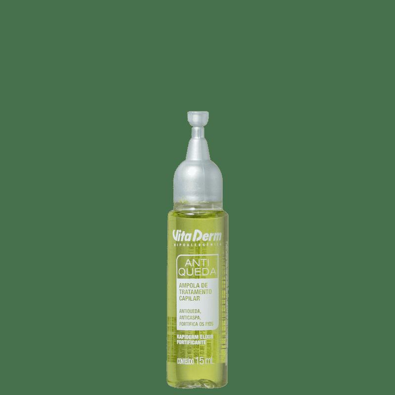 Vita Derm Kapiderm Elixir Fortificante Antiqueda - Ampola Capilar 15ml