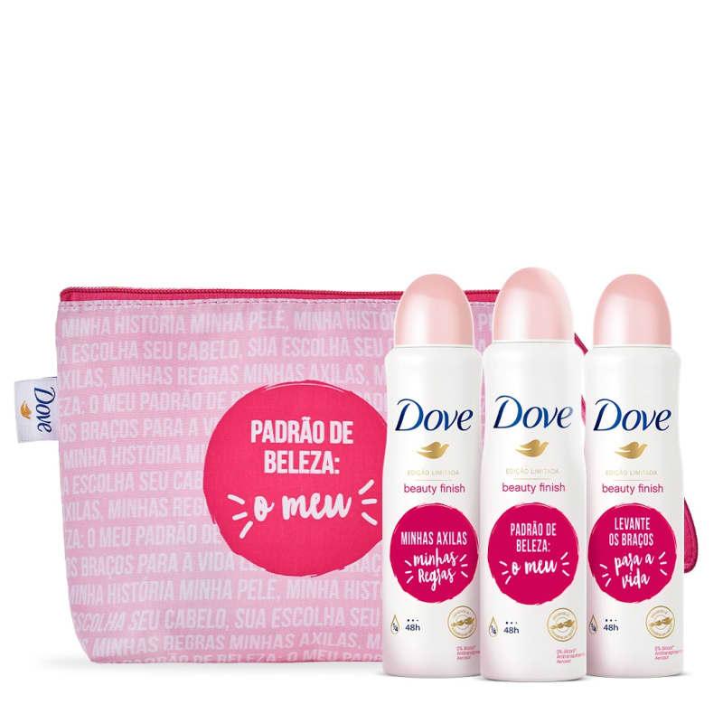 Kit Dove Proteção + Necessaire