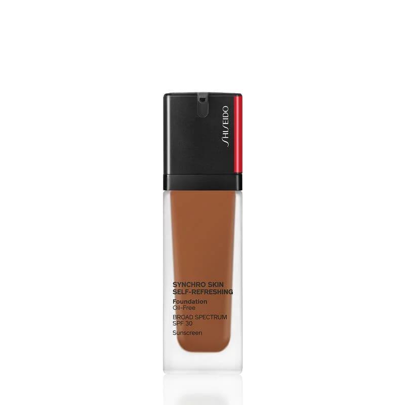 Shiseido Synchro Skin Self-Refreshing SPF 30 520 Rosewood - Base Líquida 30ml