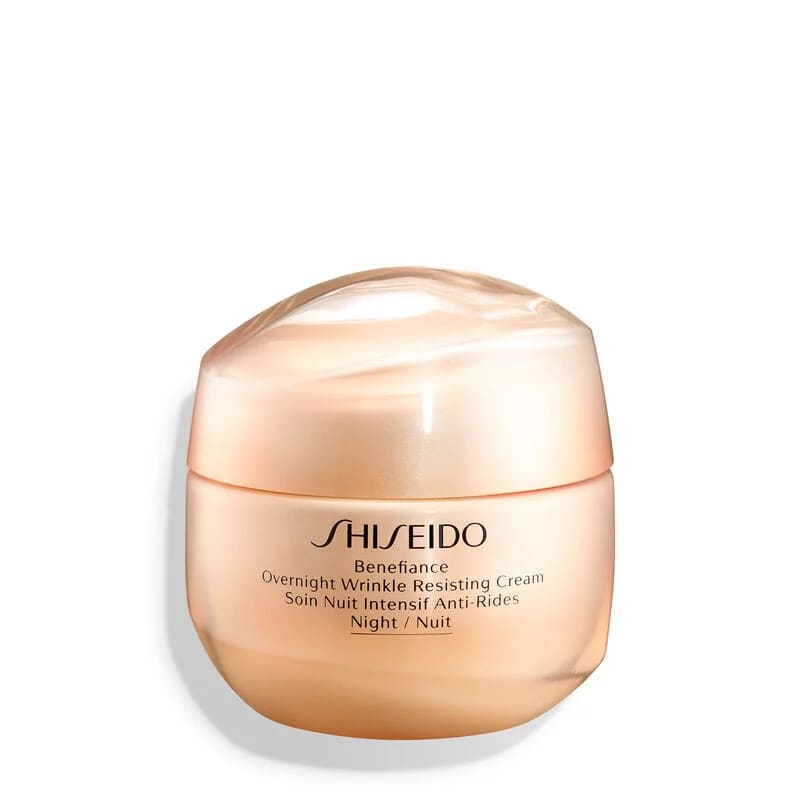 Benefiance Overnight Wrinkle Resisting Cream - Creme Hidratante Facial Noturno Antirrugas 50ml