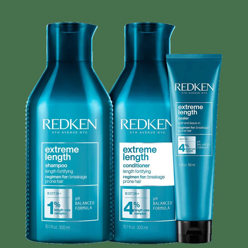 Kit Redken Extreme Length Trio (3 Produtos)