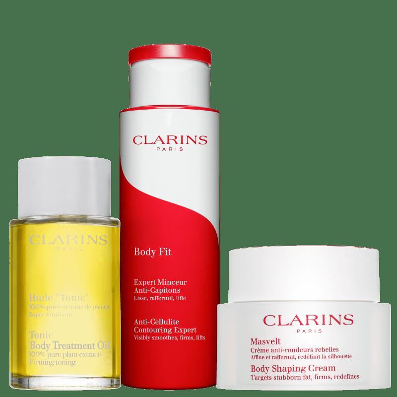 Kit Clarins Body Shaping Treatment Fit (3 Produtos)
