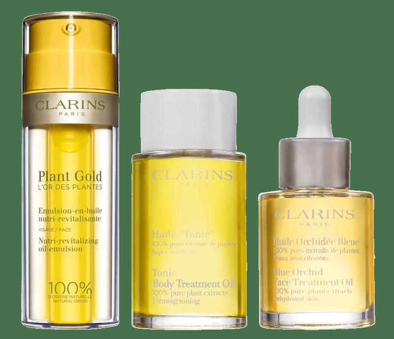 Kit Clarins Trois Riche Huiles (3 Produtos)