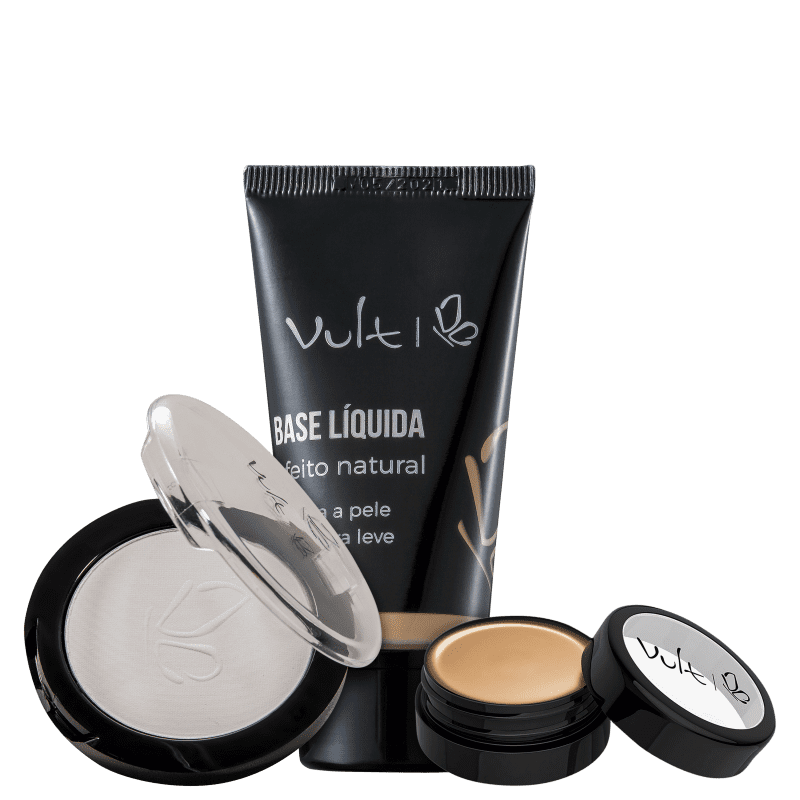 Kit Vult Efeito Natural (3 produtos)