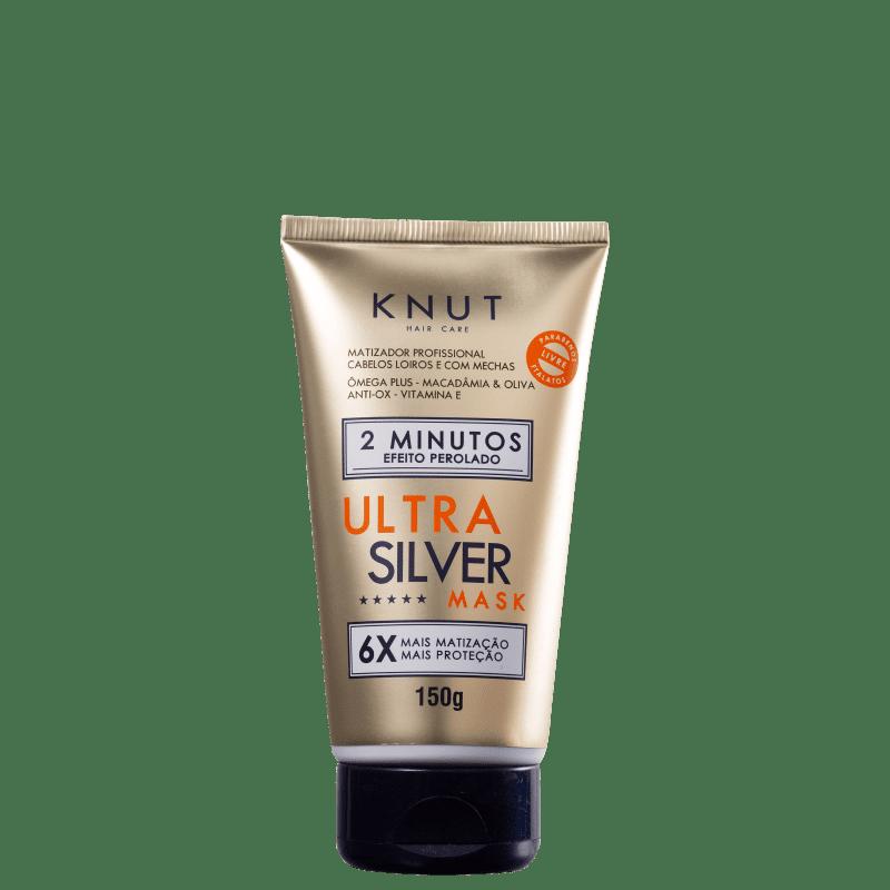 Knut Ultra Silver Pérola - Máscara Matizadora 150g