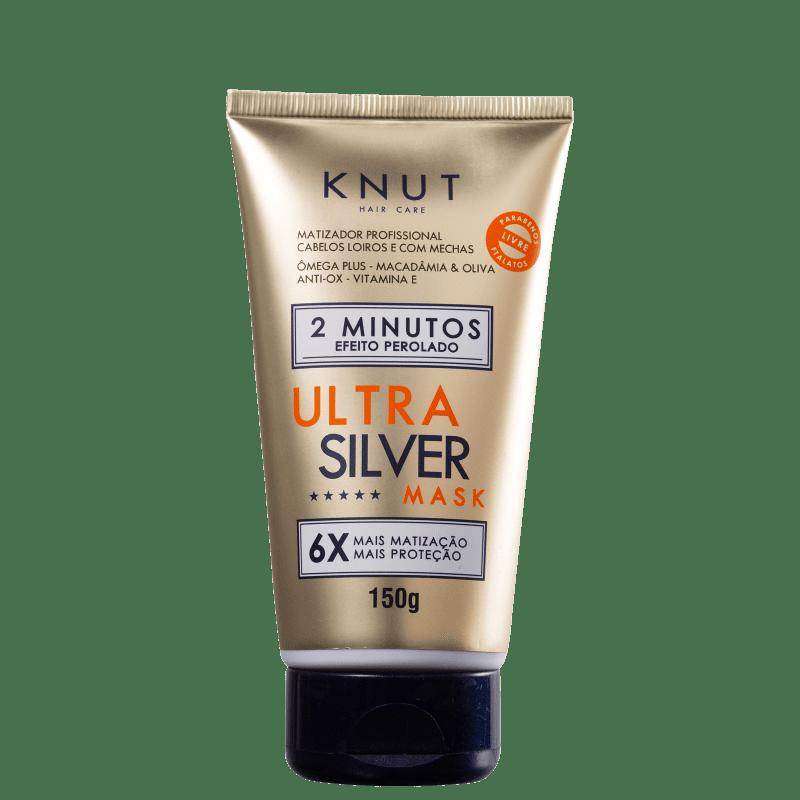 Knut Ultra Silver Prata - Máscara Matizadora 150g