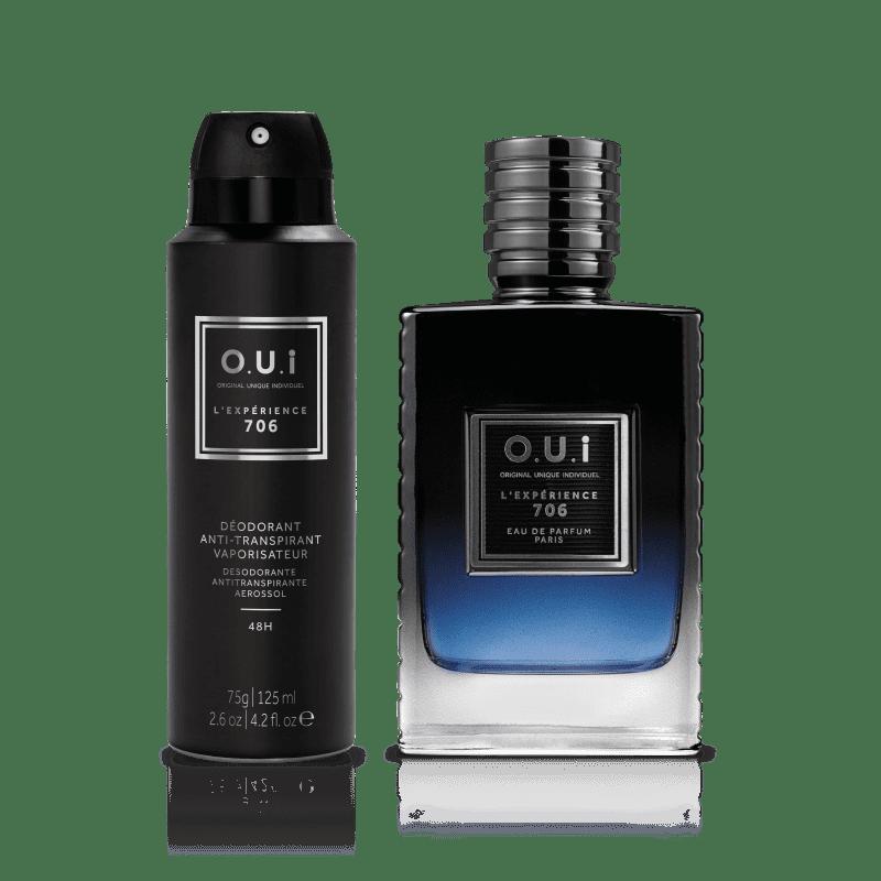 O.U.i Kit L'Experience 706 - Eau de Parfum 75ml + Desodorante 75g