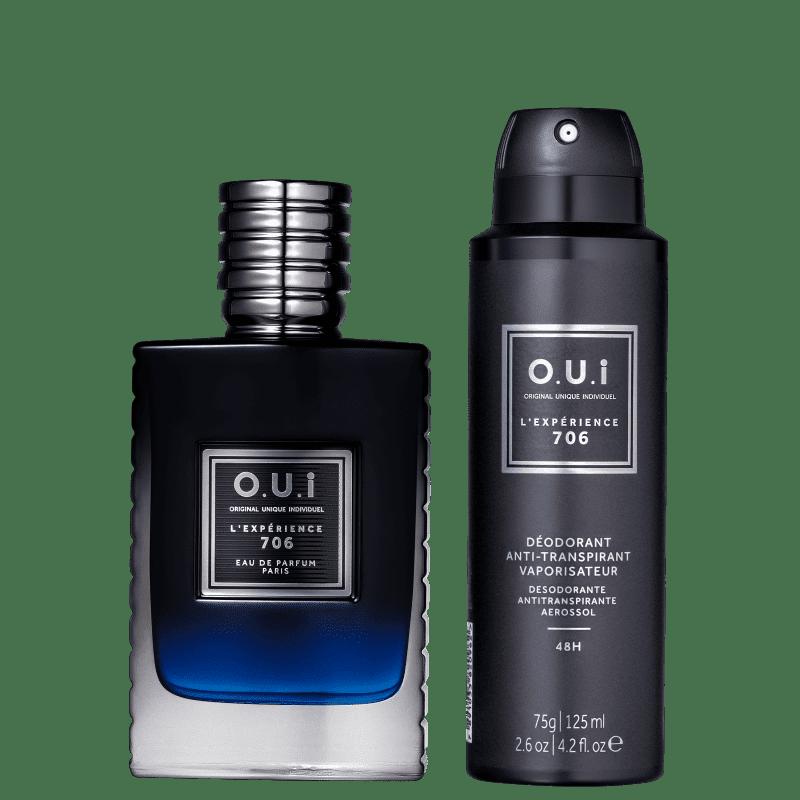 Conjunto L'Expérience 706 O.U.i Masculino - Eau de Parfum 75ml + Desodorante 75g