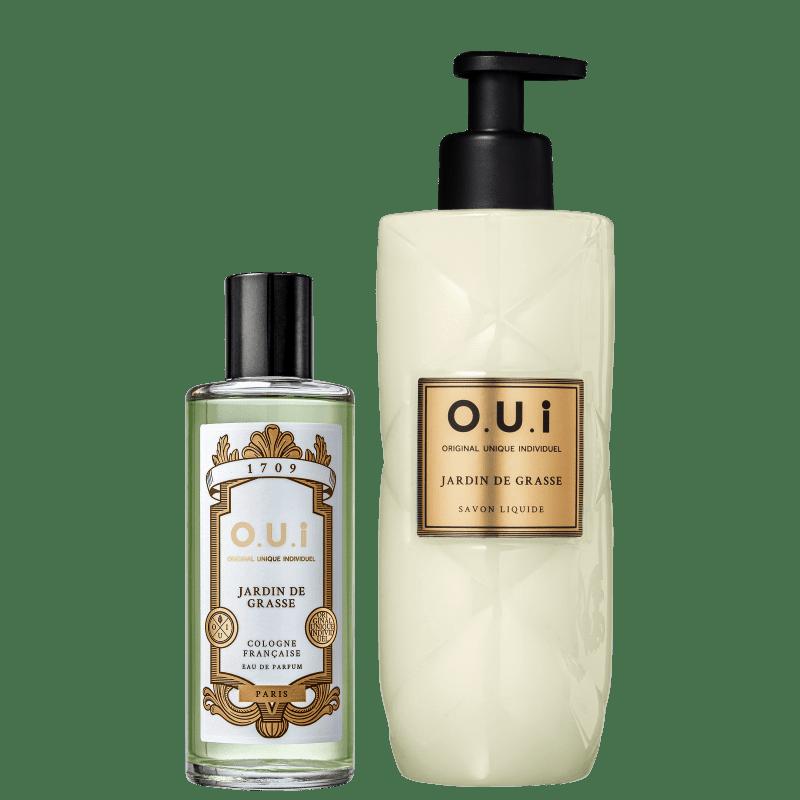 Kit O.U.i Jardin de Grasse - Eau de Parfum 115ml + Sabonete Líquido 400ml