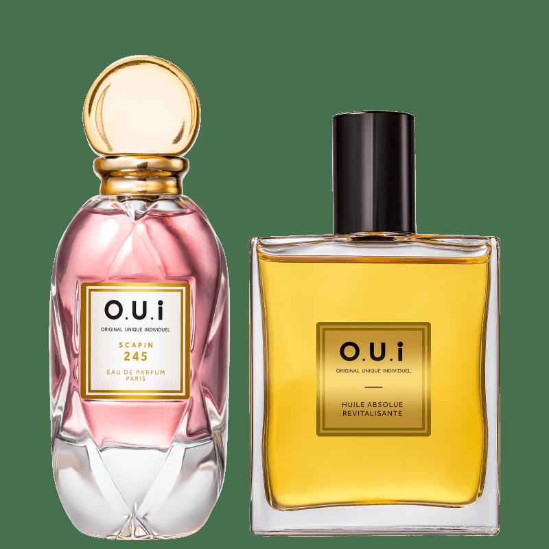 Conjunto Scapin 245 O.U.i Feminino - Eau de Parfum 75ml + Óleo Multifuncional 100ml