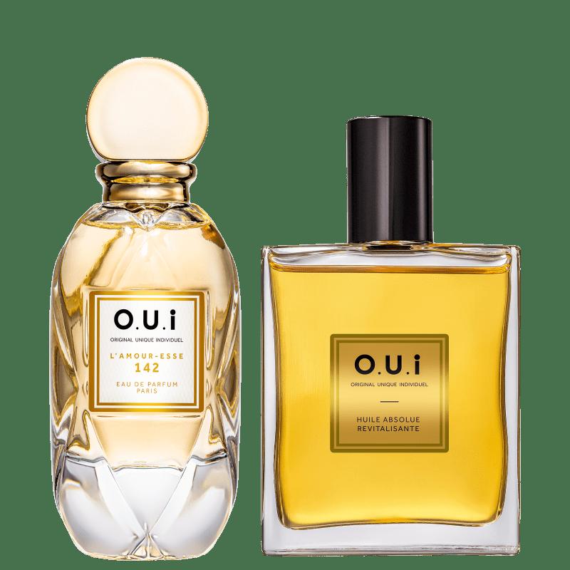Conjunto L'Amour-Esse 142 O.U.i Feminino - Eau de Parfum 75ml + Óleo Multifuncional 100ml