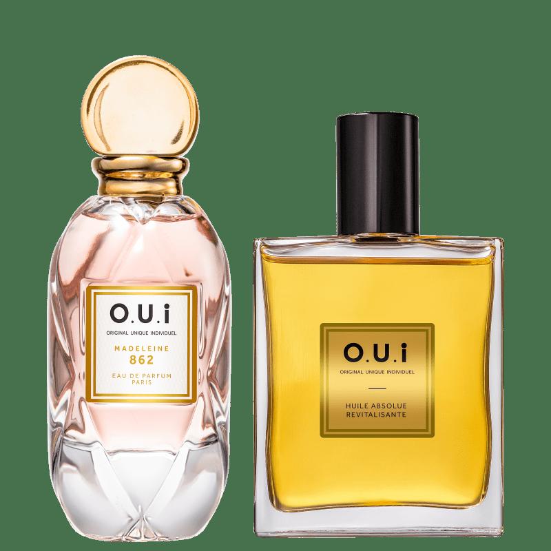 Conjunto Madeleine 862 O.U.i Feminino - Eau de Parfum 75ml + Óleo Multifuncional 100ml