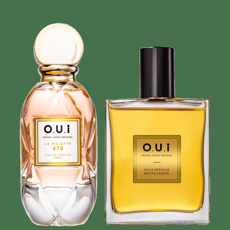 Conjunto La Villette 470 O.U.i Feminino - Eau de Parfum 75ml + Óleo Multifuncional 100ml