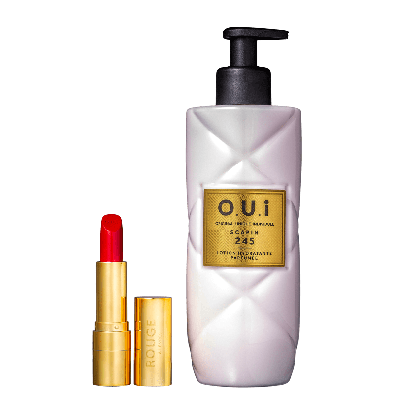 Kit O.U.i Rouge Luxe & Scapin 245 (2 Produtos)