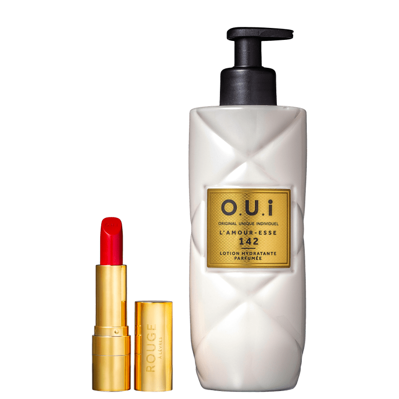Kit O.U.i L'Amour-Esse 142 Lotion & Rouge Luxe (2 Produtos)