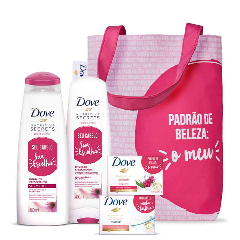 Kit Dove Completo: Limpeza e Cuidado