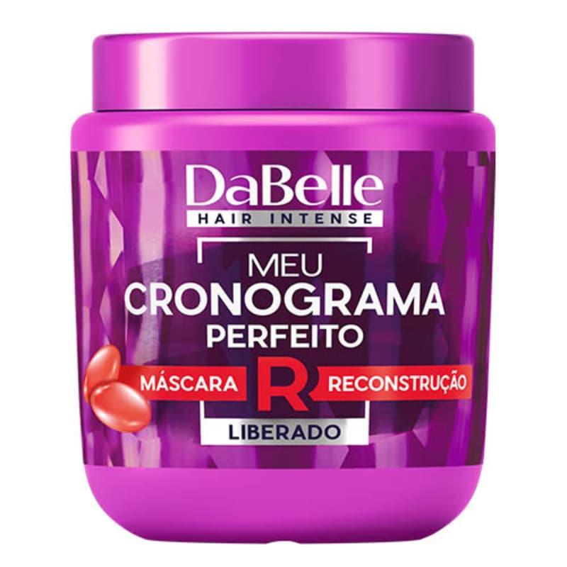 DaBelle Hair Intense Meu Cronograma Perfeito - Máscara de Reconstrução 400g