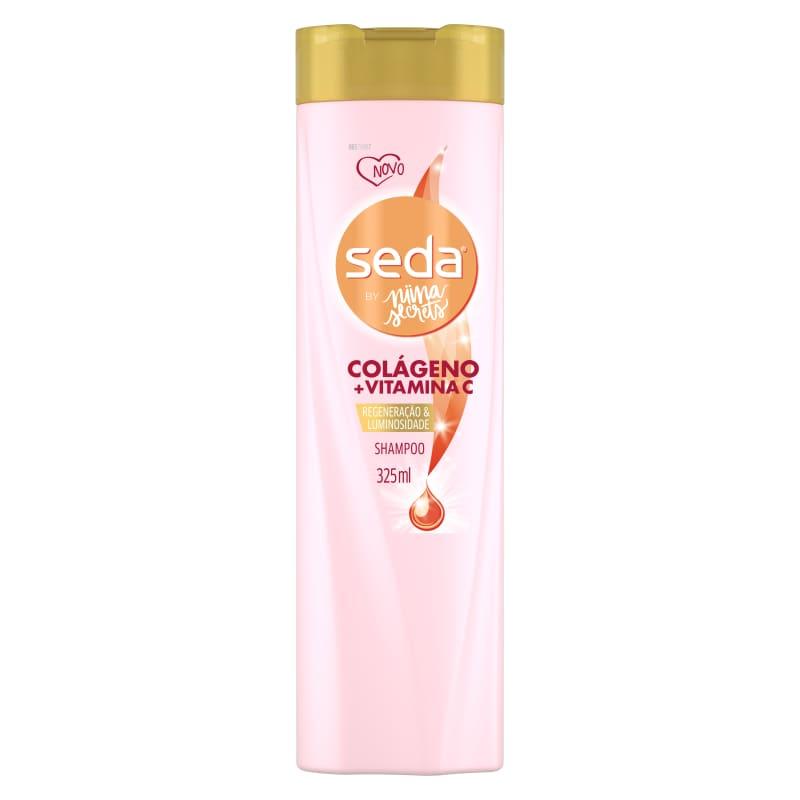 Shampoo Seda Colágeno + Vitamina C by Niina Secrets 325ml