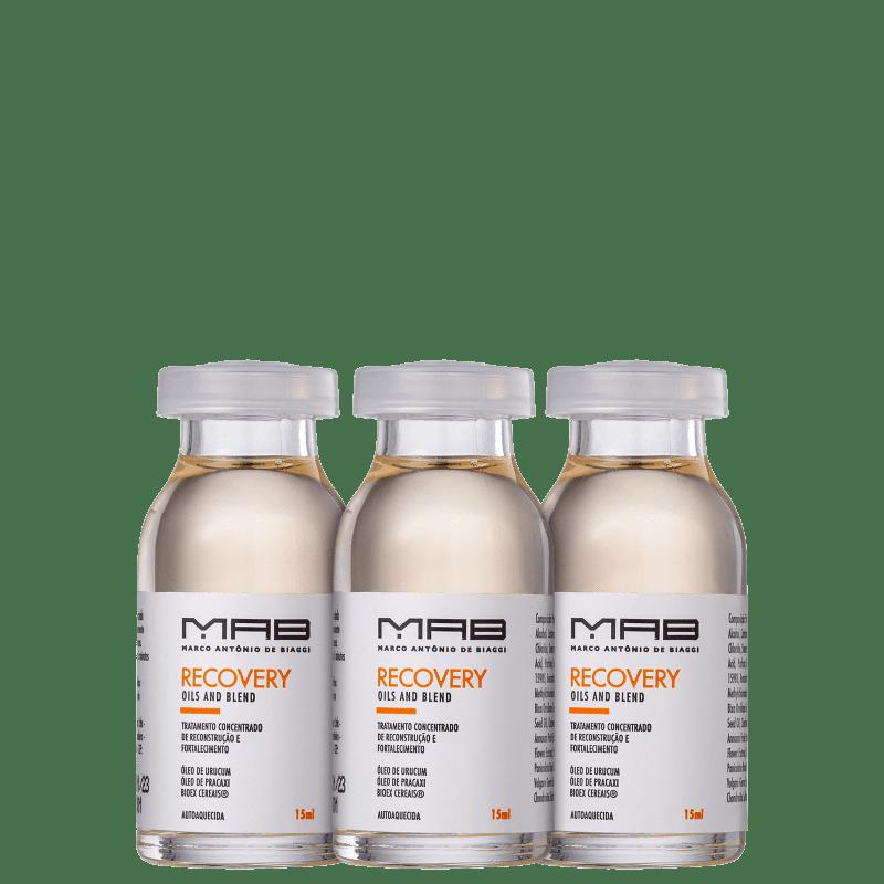 Kit MAB Marco Antonio de Biaggi Recovery Oils (3 produtos)