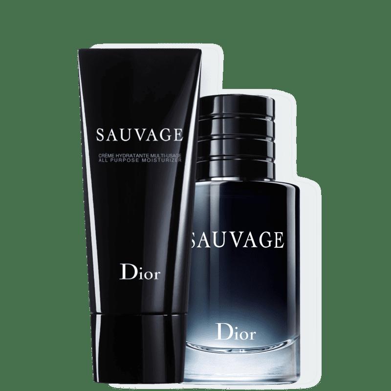 Conjunto Dior Sauvage Masculino - Eau de Toilette 60ml + Creme Hidratante 150ml