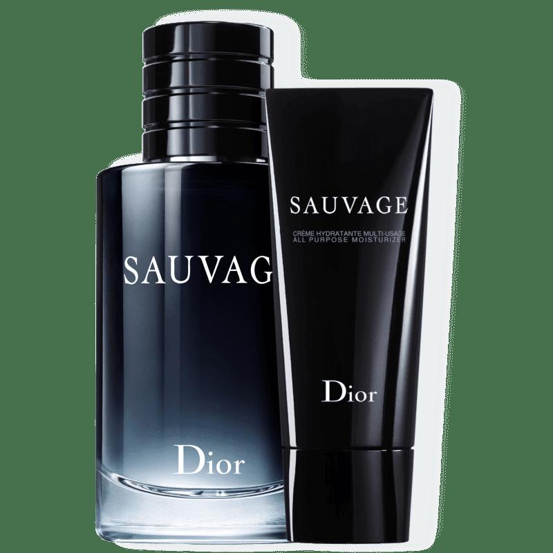 Kit Dior Sauvage Masculino Eau de Toilette 200ml + Creme Hidratante 150ml