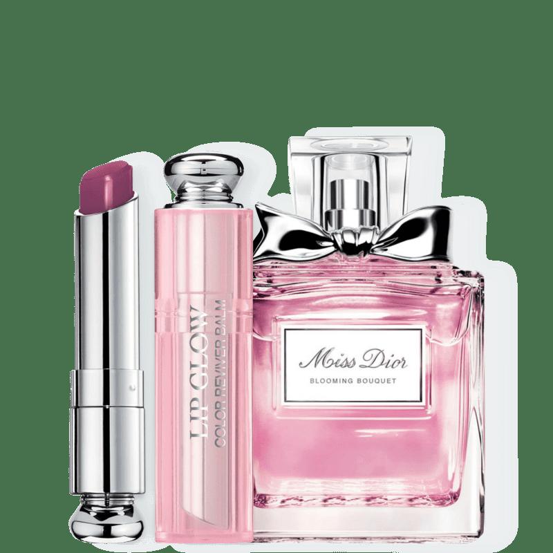 Kit Dior Miss DIOR Blooming Bouquet Feminino Eau de Toilette 30ml + Bálsamo Labial Berry 3,5g