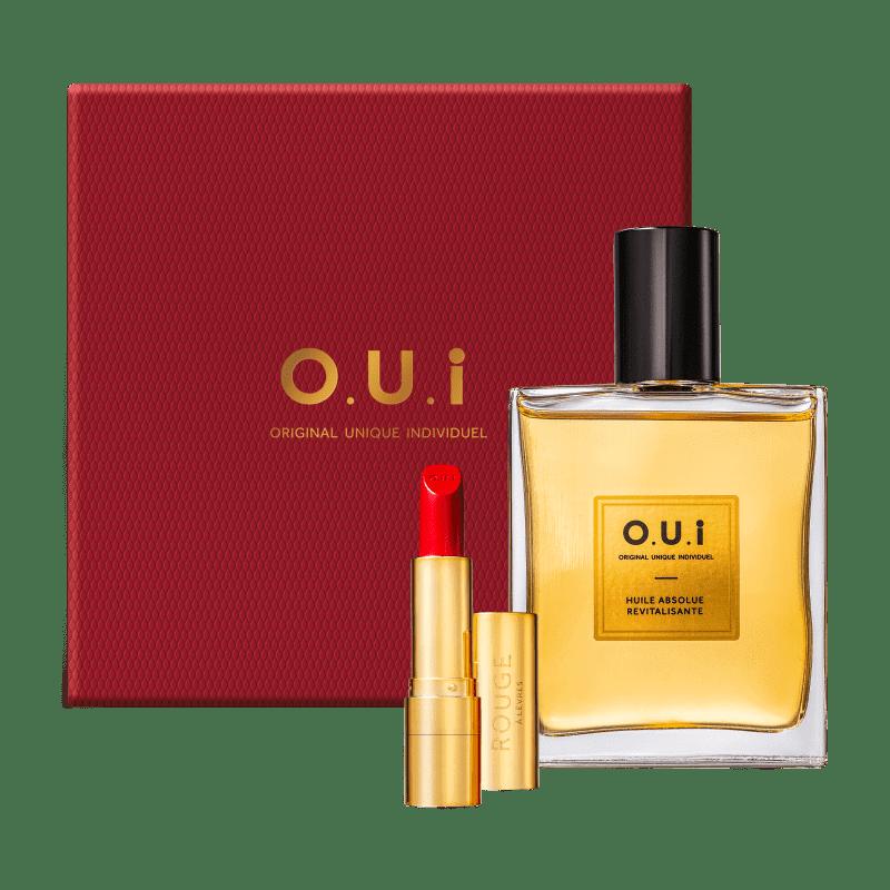 Kit O.U.i Rouge Luxe Absolut - Óleo Absoluto 100ml + Batom Cremoso 3,5g