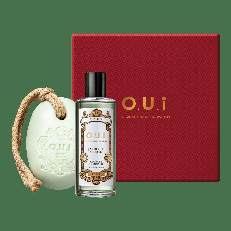 Kit Jardin de Grasse O.U.i Unissex - Eau de Parfum 115ml + Sabonete em Barra 190g