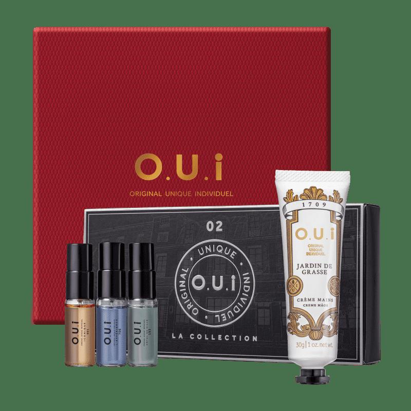 Kit La Collection 02 O.U.i Masculino - Eau de Parfum 15ml + Creme Hidratante para as Mãos 30g