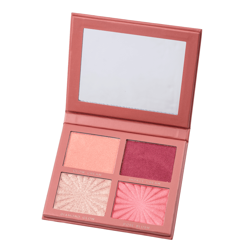 Nádia Tambasco by Océane Face to Glow - Paleta de Blush e Iluminador 16g