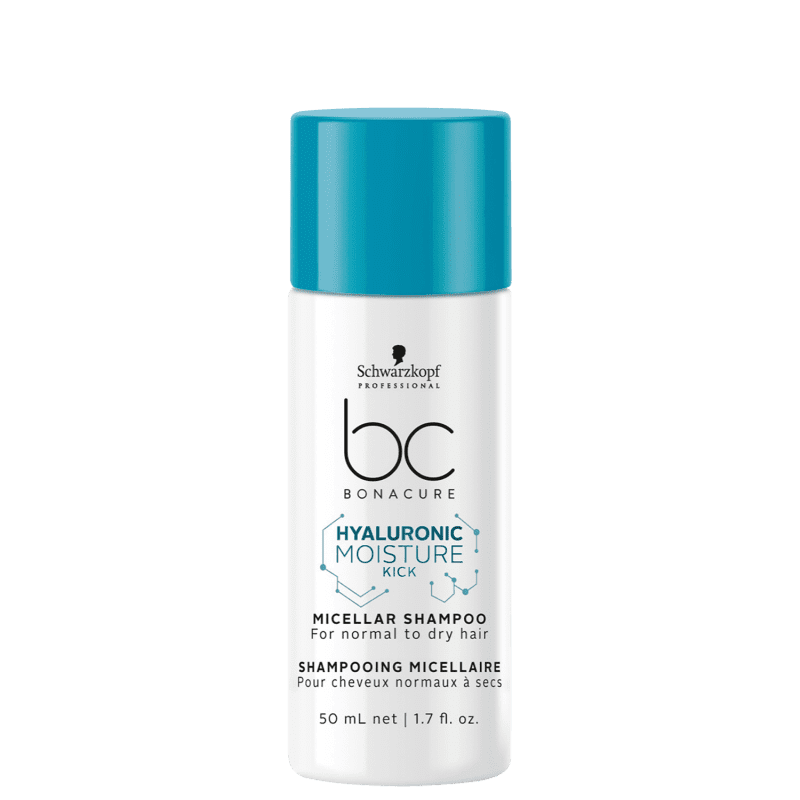 Schwarzkopf Professional BC Bonacure Hyaluronic Moisture Kick Micellar - Shampoo 50ml
