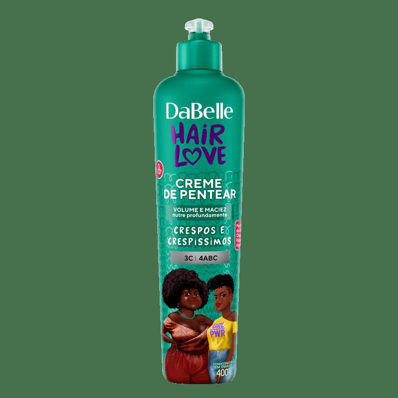 DaBelle Hair Love Creme Para Pentear Crespos e Crespíssimos 400G