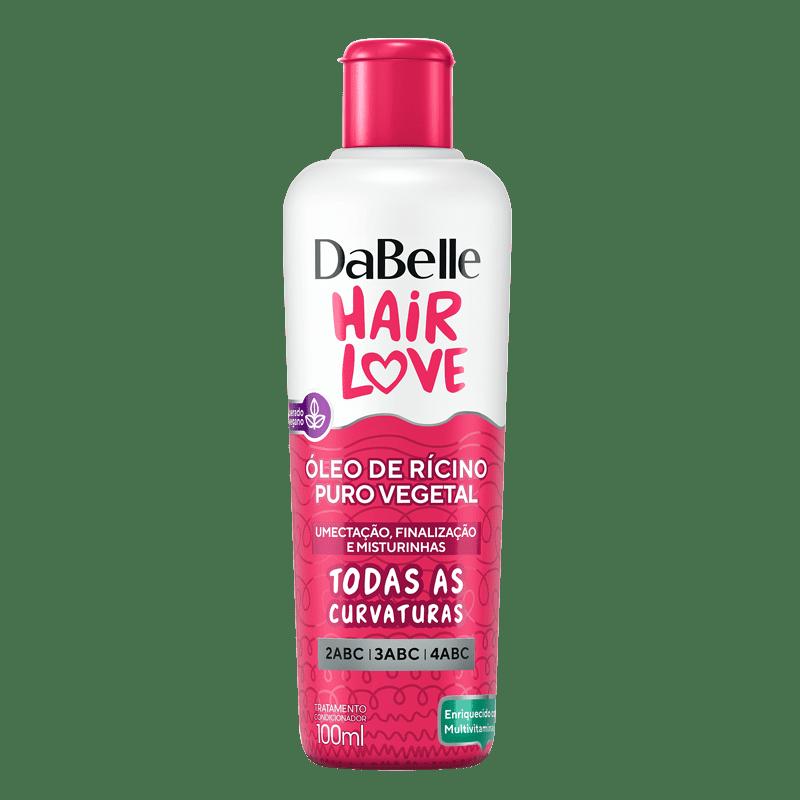 DaBelle Hair Love Óleo De Rícino Puro Vegetal 100ML