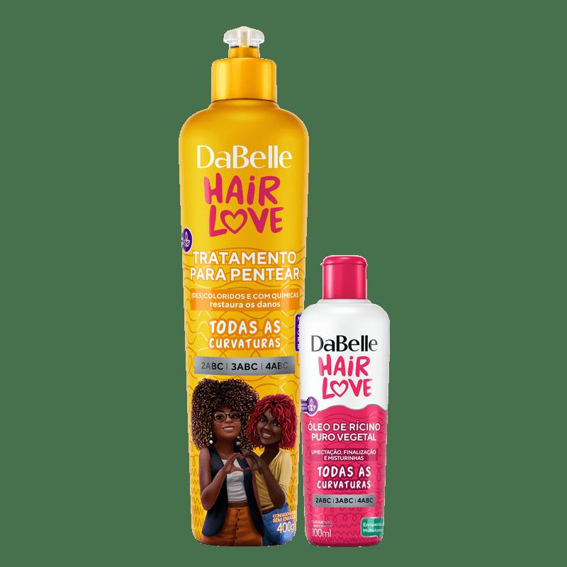 Kit DaBelle Hair Love Tratamento Para Pentear + Óleo