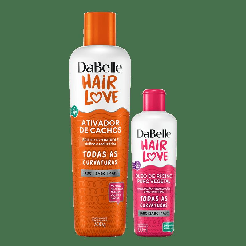 Kit DaBelle Hair Love Ativador + Óleo