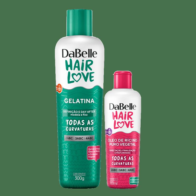 Kit DaBelle Hair Love Gelatina + Óleo