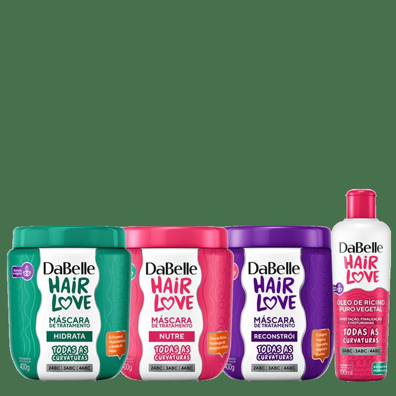 Kit DaBelle Hair Love Máscaras + Óleo