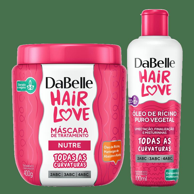 Kit DaBelle Hair Love Máscara Nutre + Óleo
