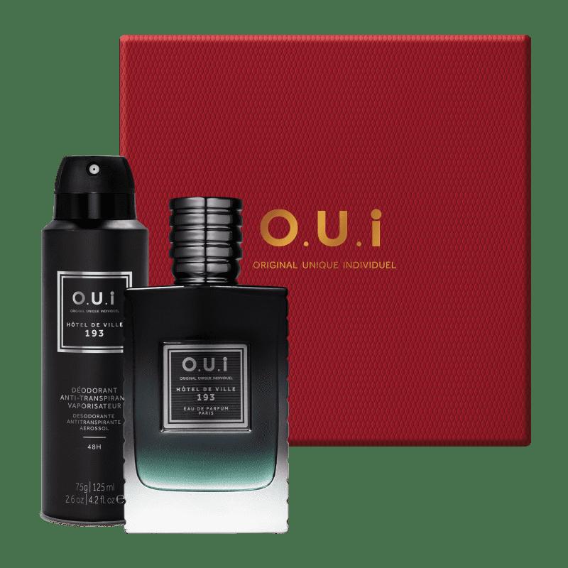 Kit O.U.i Hôtel de Ville 193 Masculino - Eau de Parfum 75ml + Desodorante 75g