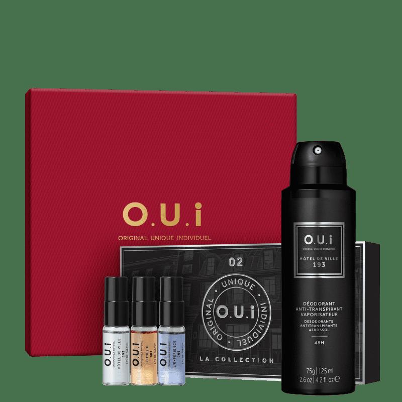 Kit O.U.i La Collection 02 Masculino + Desodorante Hôtel de Ville 193 75g