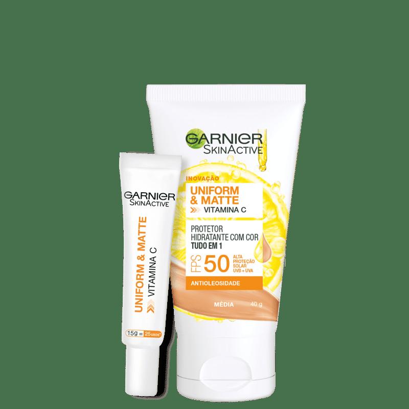 Kit Garnier SkinAtive Proteção #2 (2 Produtos)