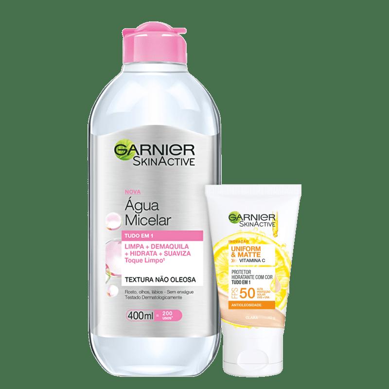 Kit Garnier SkinAtive Pele Incrível #2 (2 Produtos)