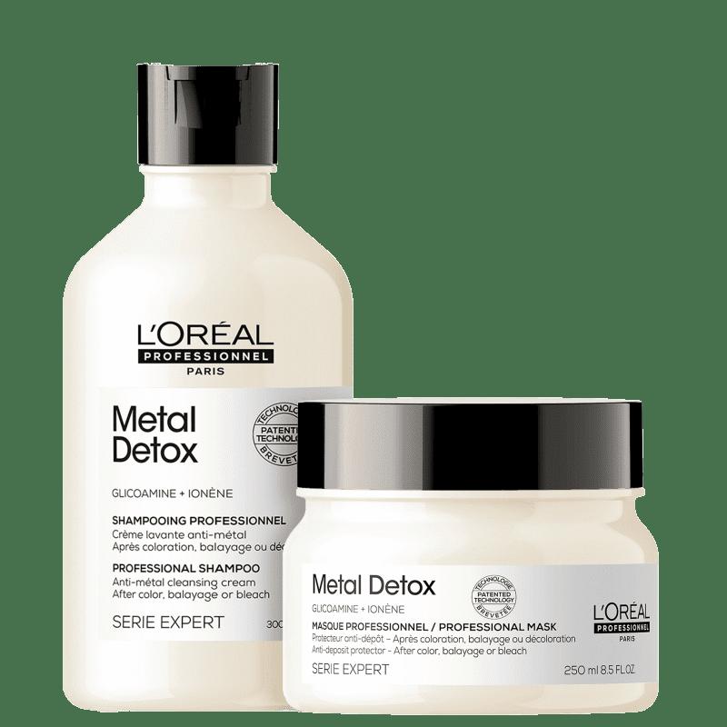 Kit L'Oréal Professionnel Metal Detox Duo (2 Produtos)