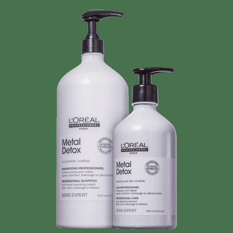 Kit L'Oréal Professionnel Metal Detox Soin (2 Produtos)